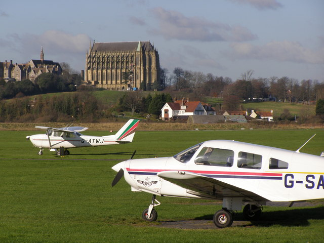 Lancing_College_chapel_as_seen_from_Shoreham_airport_-_geograph.org.uk_-_718712
